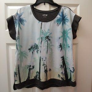 🌴 Palm Tree Short Sleeve Shirt 🌴